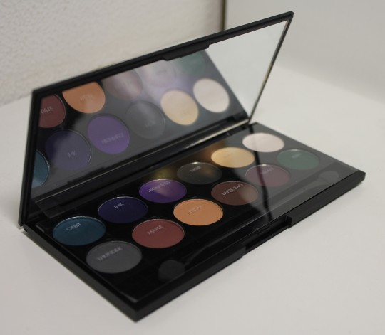 sleek paleta palette ultra matte darks